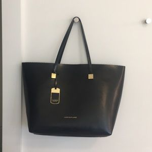 BRAND NEW* Ralph Lauren Black Tote!! never used